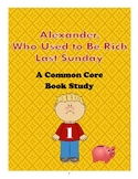 A Book Study on Alexander Who Used to Be Rich Last Sunday by: Judith Voist