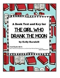 A Book Test and Key for The Girl Who Drank the Moon by Kelly Barnhill