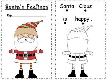 A Book about Santa's Feelings