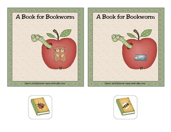 A Book for Bookworm: Rhyming Match Activity