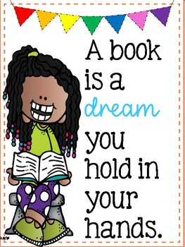 A Book is a Dream You Hold in Your Hands