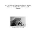 A Book of Rimes for Kindergarten and First Grade Students