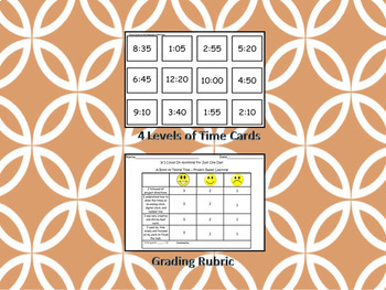 A Book of Telling Time - Project-Based Learning