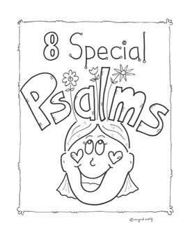 A Booklet of 8 Special Psalms