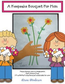 Free Mother's Day Craft: A Keepsake Bouquet For Mom