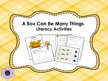 A Box Can Be Many Things - Literacy Activities