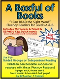 A Boxful of Books - A Growing BUNDLE of Sight Word Emergen