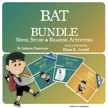 A Boy Called Bat & Bat and the Waiting Game Bundle