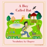 A Boy Called Bat-Vocabulary by Chapter