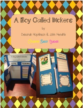 A Boy Called Dickens Lapbook