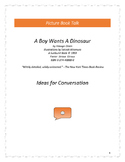 A Boy Wants A Dinosaur: Ideas for Conversation