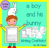 A Boy and His Bunny - Writing Craftivity