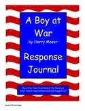 A Boy at War Response Journal