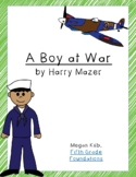 A Boy at War Novel Unit