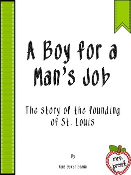 A Boy for a Man's Job Novel Study