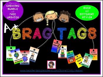 A+ Brag Tags