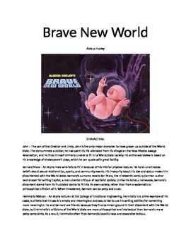 a brave new world summary essay topics and test by andrew elsen a brave new world summary essay topics and test