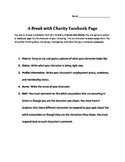 """A Break with Charity"" Countenancebook Page"