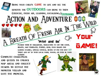 A Breath of Fresh Air in the Wild (Zelda Inspired) Computer game  outdoor