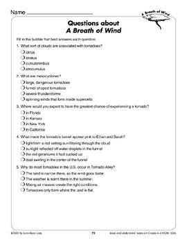 A Breath of Wind  (Earth & Space Science/Weather, Tornadoes)