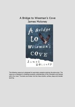 A Bridge to Wiseman's Cove By James Moloney Book/Novel Study