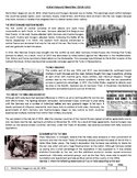 A Brief History Of World War I - Reading Comprehension Worksheet / Text