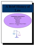 A Brief History of Law