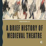A Brief History of Medieval Theatre Powerpoint/Activity Sheets