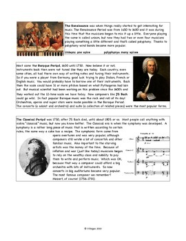 A Brief History of Music