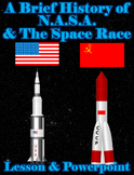 A Brief History of N.A.S.A. and the Space Race (lesson, po