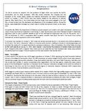 A Brief History of NASA - Reading Comprehension Text #GoogleExpeditions
