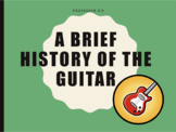A Brief History of the Guitar Powerpoint/Activity Sheet Bundle