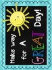 A Bright Rainbow Chalkboard Inspirational Book Quote Posters