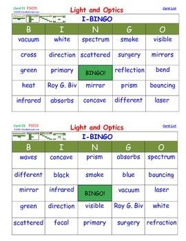 A Brilliant - I-BINGO – Light and Optics - IBPS015 Interac
