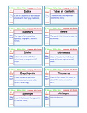 A Brilliant -  I Have Who Has 30 Card Set – Lang Art Terms Review IHWH_LA3004