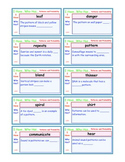 A Brilliant -  I Have Who Has 30 Card Set – Patterns and Probability  - IHWH