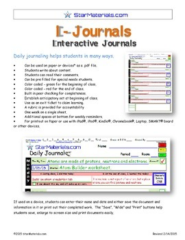 A Brilliant - I-Journal - Interactive Journal for Daily Claiming of Learning