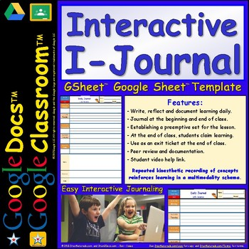 A Brilliant DIGITAL Journal for Students - Daily Journal for Google Doc™️