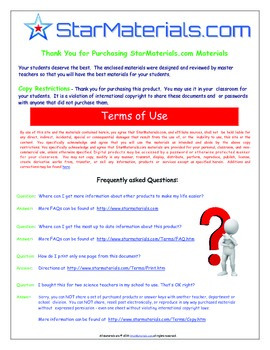 A Brilliant - I-Scoot – Cells and Respiration – 30 Task Cards - Interactive