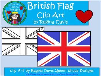 A+ British Flag Clip Art