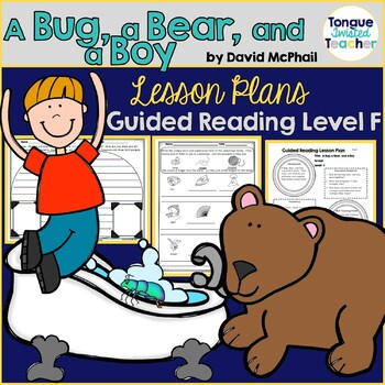 A Bug, a Bear, and a Boy by David McPhail Guided Reading Lesson Plan Level F