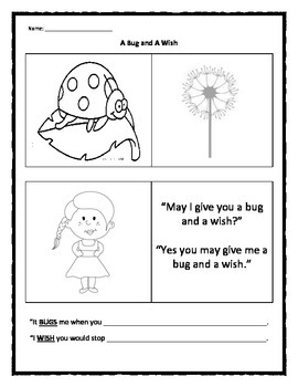 A Bug and A Wish: Solving Conflicts Peacefully with Girls
