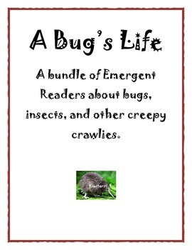 A Bug's Life:  a bundle of emergent readers