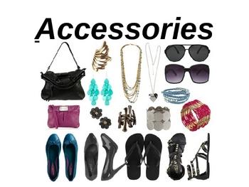 A+ Building Vocabulary: Accessories