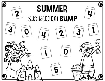 A Bump for Every Season {Math Game for Every Holiday}