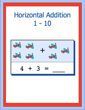 Addition 0 -10 horizontal, bundle