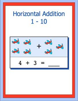 Addition 0 -10 horizontal, bundle