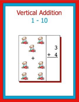 Addition 0-10 vertical, bundle