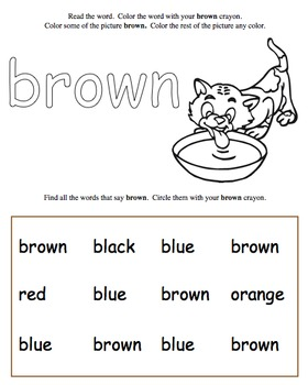Color Words, bundle