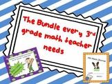 A Bundle Every 3rd grade Math teacher NEEDS CCSS aligned